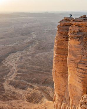 «Край света» недалеко от Эр-Рияда