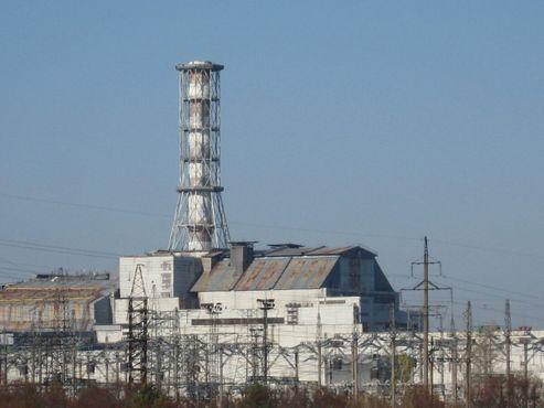 Чернобыльский ядерный реактор