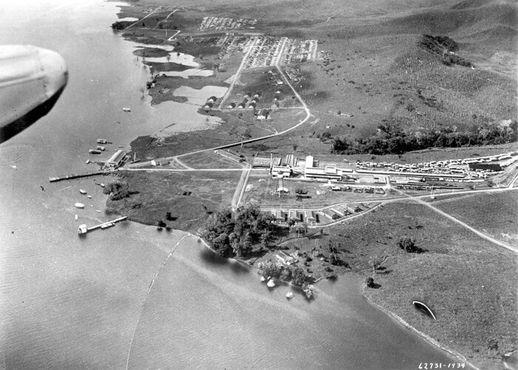 Фордландия с высоты птичьего полёта, 1933