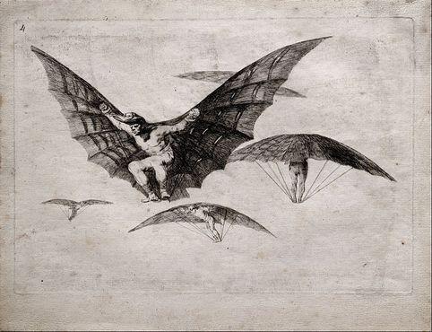 Гойя «Способ летать»