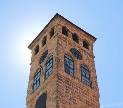 Старая часовая башня в Сараево