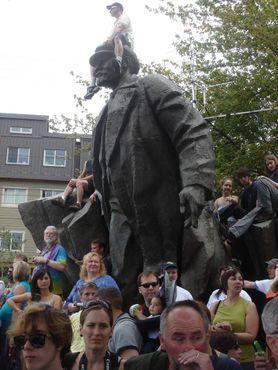 Статуя Ленина во Фремонте