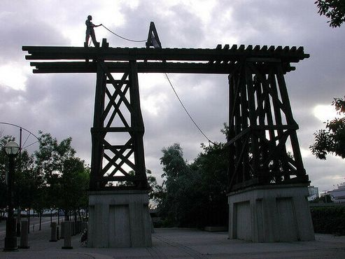 Мемориал китайским рабочим железной дороги