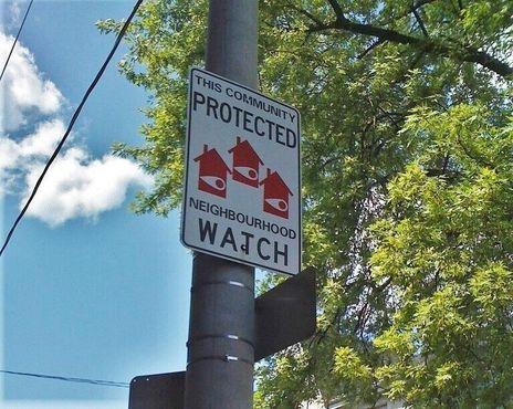 Знак соседского дозора