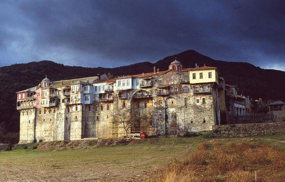 Монастырь Иверон на Горе Афон