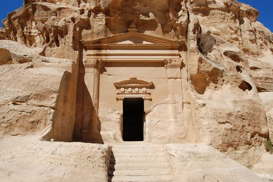 Мавзолей в Малой Петре, Иордания