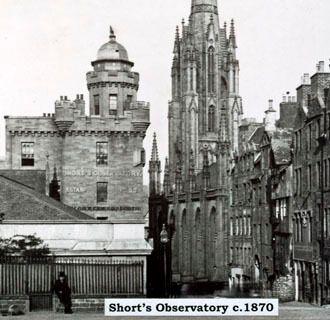 Обсерватория Шорта, около 1870 года