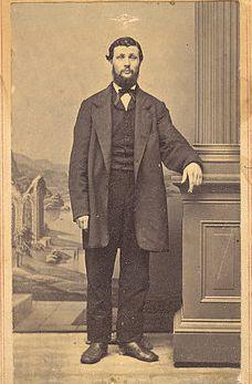 Джон Мьюр в студенческие годы, Мэдисон, Висконсин, 1863 год.