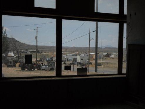 "Вид из отеля ""Голдфилд"" на город"