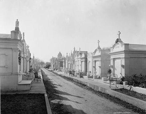 Кладбище Метейри в XX веке