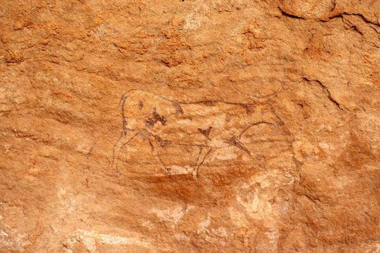 Наскальная живопись в Тассилин-Адджер