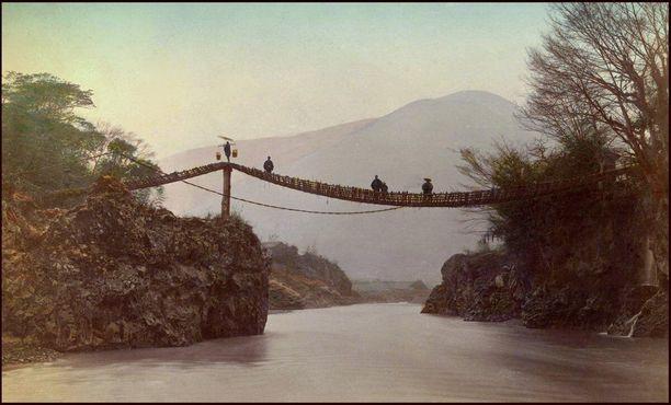 Один из оригинальных мостов, фото 1880-х годов