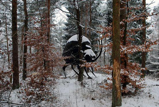 Гигантский жук, автор: Рене Шмидт
