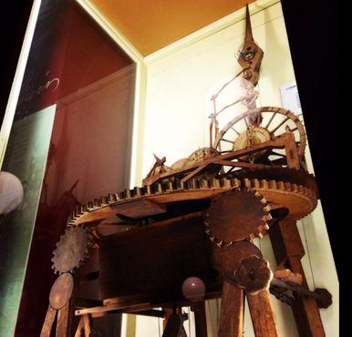 Часы Мьюра, примерно 1860 года. Выставка Висконсинского исторического сообщества, Мэдисон.