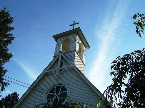 «Сатанинская»церковь в Хеллтауне