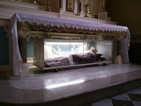Останки святой Бонозы