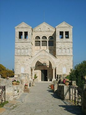 Базилика Преображения Господня на горе Фавор