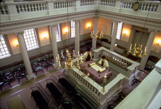 Интерьеры синагоги