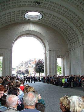 Церемония Последних Почестей в Мененских воротах