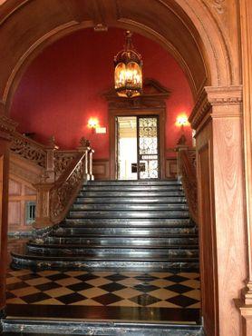 Лестница особняка Грейстоун