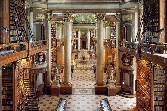 Сделайте фото Австрийской национальной библиотеки
