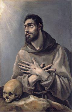 Эль Греко - «Экстаз св. Франциска Ассизского»