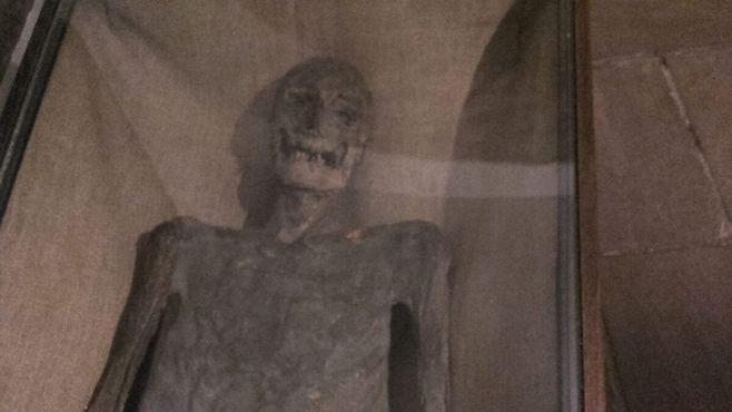 Мумия в склепе