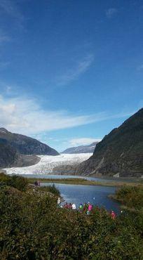 Ледник Менденхолл. Сентябрь 2016 г.