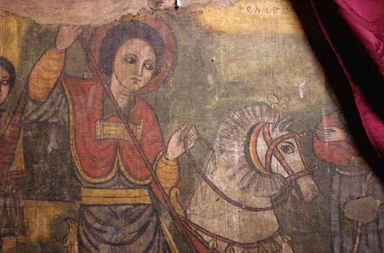 Святой Георгий побеждает змея