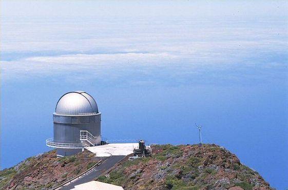 Северный оптический телескоп на острове Ла-Пальма