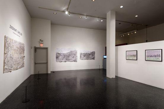 Цинциннати, штат Огайо, США: выставка «Карты Кортни Купера»