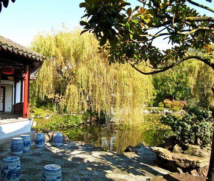 Классический сад доктора Сунь Ятсена. Двор Магнолии