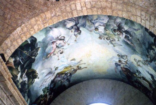 Мозаика при входе