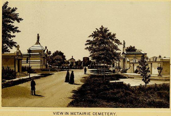 Кладбище Метейри, 1885 г.