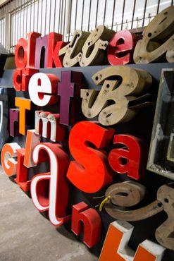 Беспорядочный набор букв