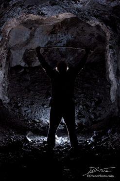 Вспышка в дальней части туннеля