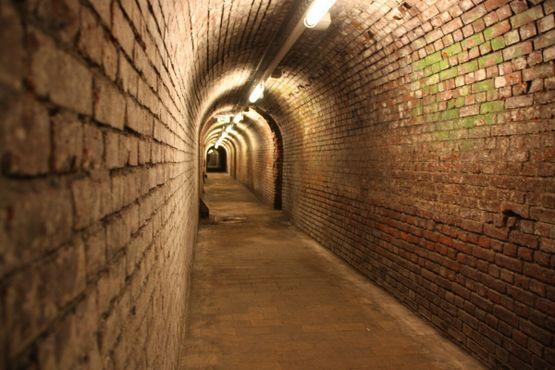 Один из тоннелей арт-пространства бывшей шахты