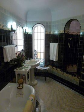Ванная комната на верхнем этаже дома