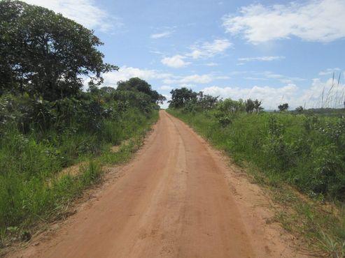 Участок «Дороги Стивенсона» недалеко от Мбалы