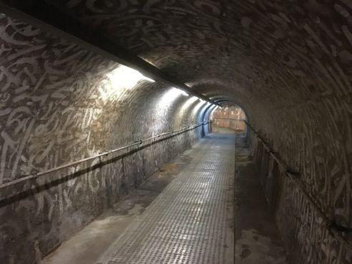 Вид на один из пешеходных туннелей