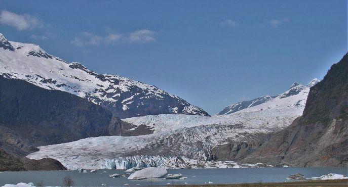 Ледник в 2015 году