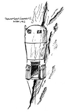 Схема кабины «Преконтинент-2»