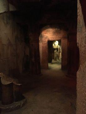 Точная копию древнеегипетской гробницы