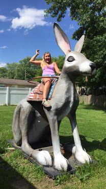 Верхом на большом кролике