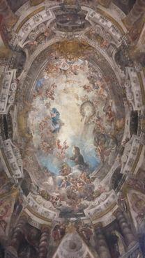 Фрески на куполе церкви Сан-Антонио-де-лос-Алеманес