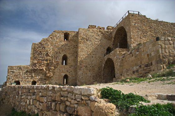 Часть замка Керак