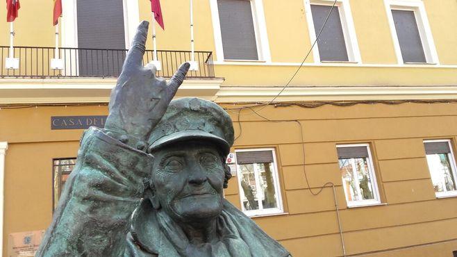 Статуя вблизи
