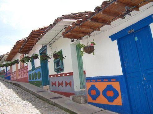 Дома в Гуатапе