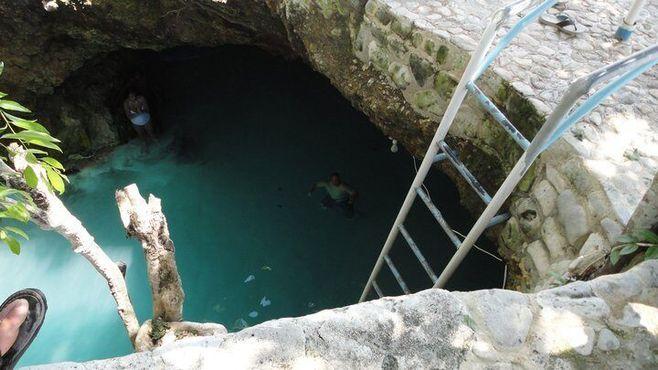 Голубая дыра на Ямайке