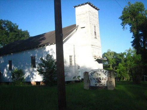 Баптистская церковь в Юнионе в 2010 году